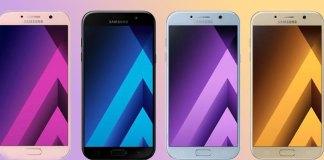 Sansuung Galaxy A 3 @017, Galaxy A5 2017, Galaxy A7 2017