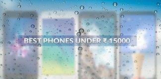 best phones under 15,000