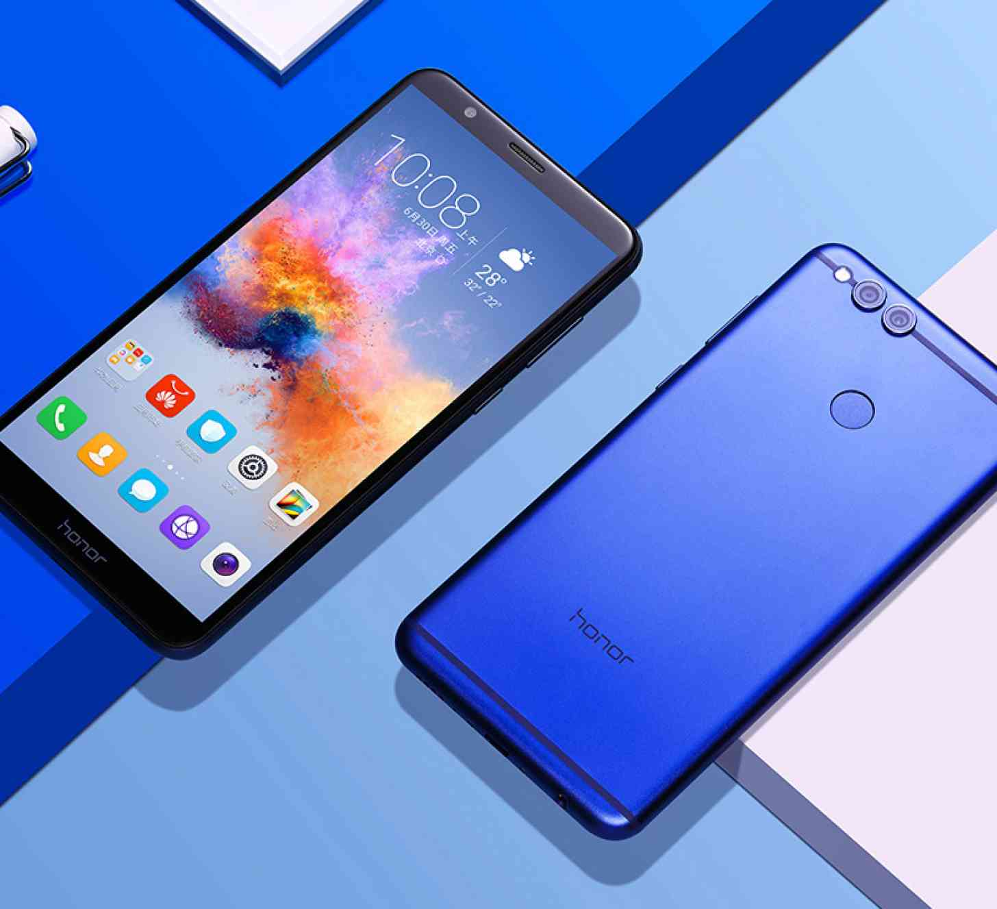 honor 7x with 18 9 display and dual cameras launched. Black Bedroom Furniture Sets. Home Design Ideas