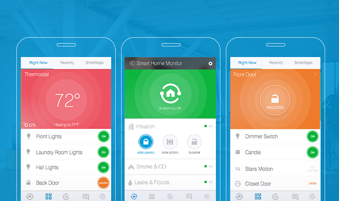 The New Smartthings App Smartthings