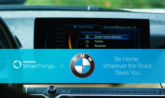 SmartThings + BMW | SmartThings
