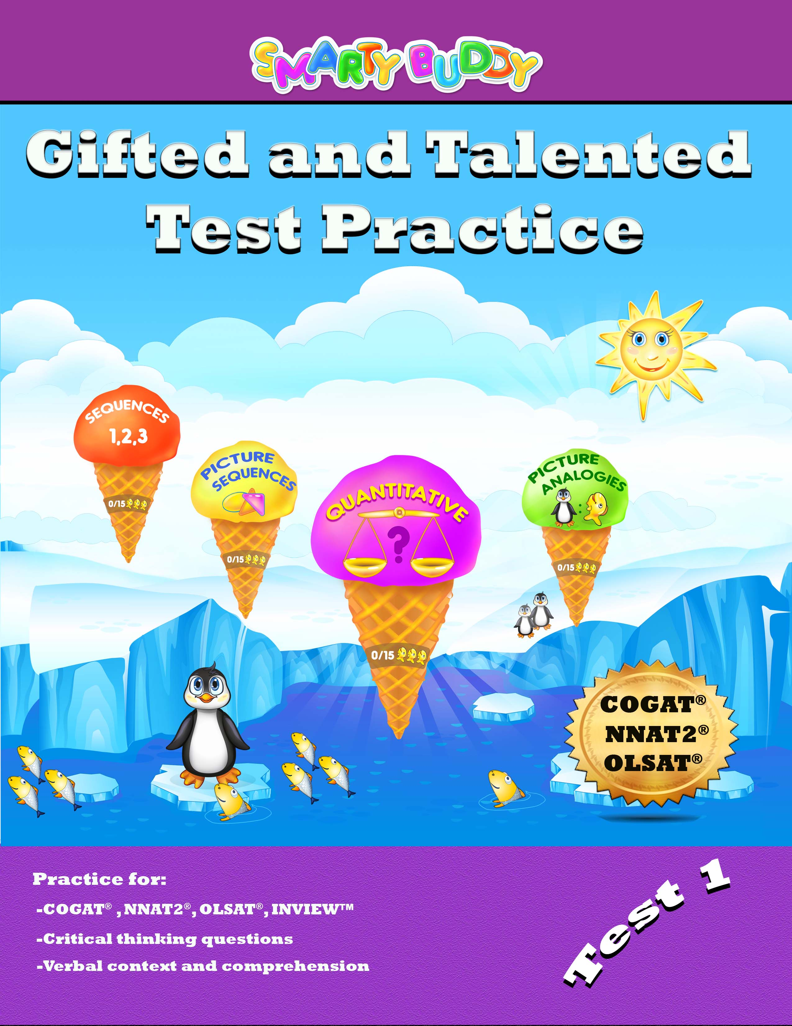 Smarty Buddy Ted And Talented Practice