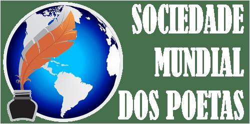 Sociedade Mundial dos poetas - logo branco