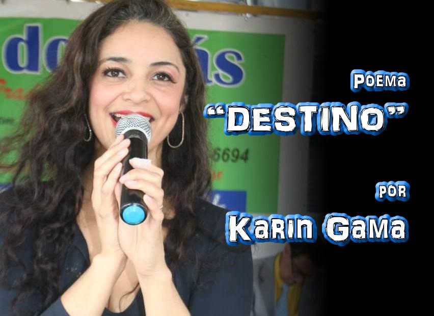 "02 - Poema ""DESTINO"" por Karin Gama - Pílulas de Poesia"