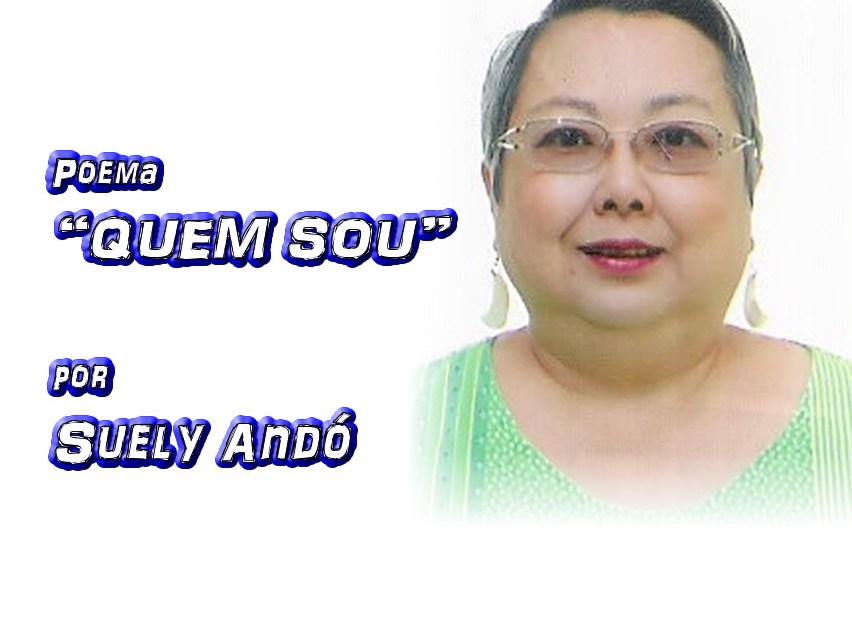 """02 - Poema """"QUEM SOU"""" por Suely Andó - Pílulas de Poesia"""