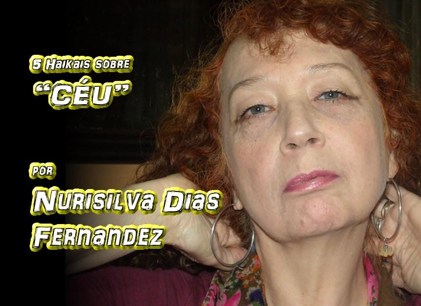 """08 - Poema """"CINCO HAIKAIS SOBRE CÉU E NUVENS"""" por Nurisilva Dias Fernandez - Pílulas de Poesia"""
