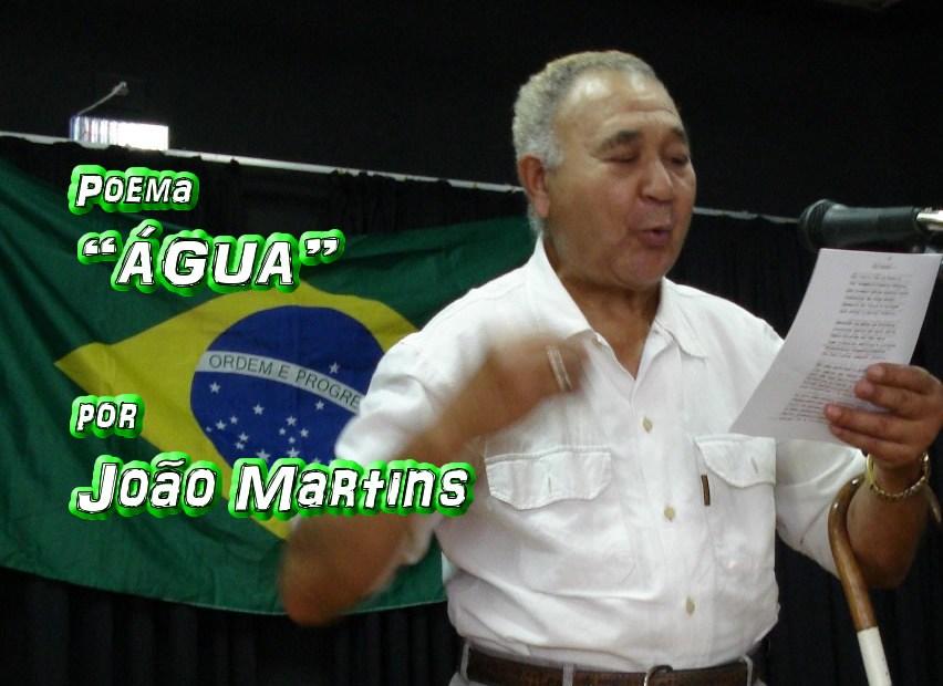 """08 - Poema """"ÁGUA"""" por João Martins - Pílulas de Poesia"""