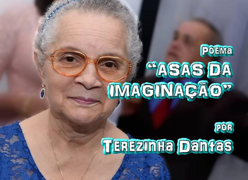 """08 - Poema """"ASAS DA IMAGINAÇÃO"""" por Terezinha Dantas - Pílulas de Poesia"""