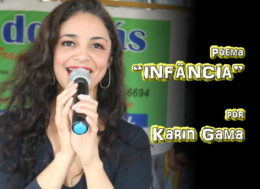 """08 - Poema """"INFÂNCIA"""" por Karin Gama - Pílulas de Poesia"""