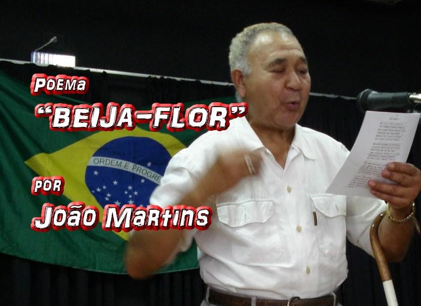"""09 - Poema """"BEIJA-FLOR"""" por João Martins - Pílulas de Poesia"""