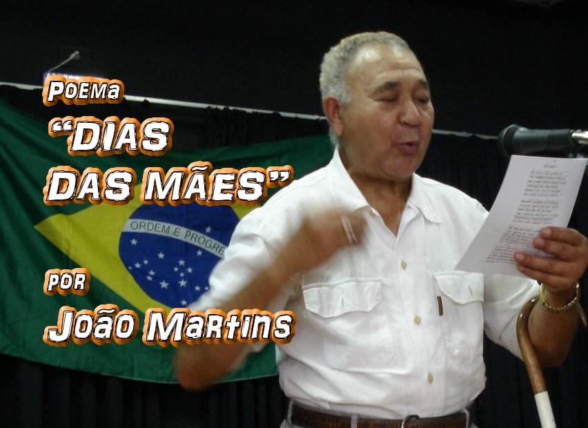 """10 - Poema """"DIAS DAS MÃES"""" por João Martins - Pílulas de Poesia"""