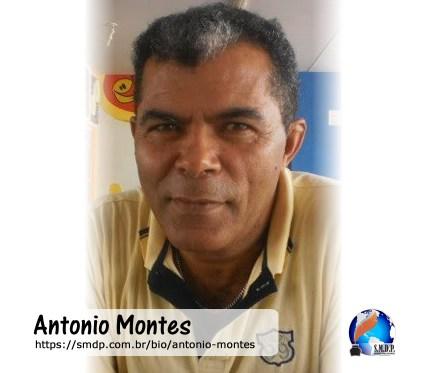 Antonio Montes, poeta, participante no projeto Publique-se da SMDP em prol do Café com Poesia. Coleção: Leveza da Alma - Volume 9