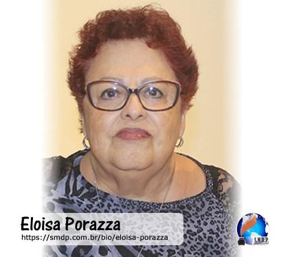 Eloisa Porazza, poeta, participante no projeto Publique-se da SMDP em prol do Café com Poesia. Coleção: Leveza da Alma - Volume 12