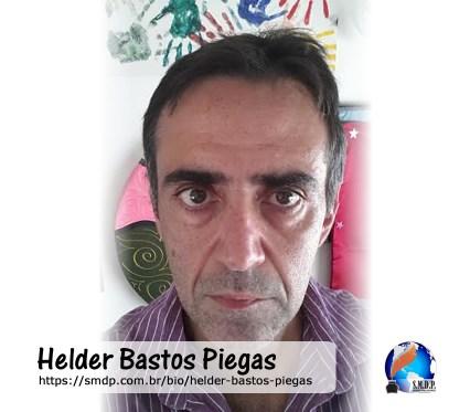 Helder Bastos Piegas, poeta, participante no projeto Publique-se da SMDP em prol do Café com Poesia. Coleção: Leveza da Alma - Volume 11