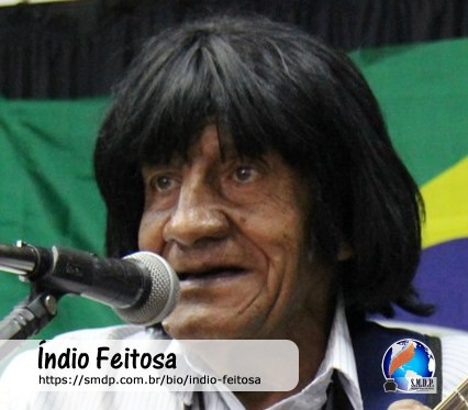 Índio Feitosa, musicista, participante no projeto Publique-se da SMDP em prol do Café com Poesia. Coleção: Leveza da Alma - Volume 3