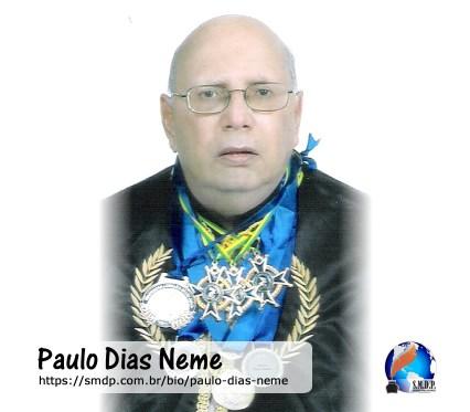 Paulo Dias Neme, poeta, participante no projeto Publique-se da SMDP em prol do Café com Poesia. Coleção: Leveza da Alma - Volume 9