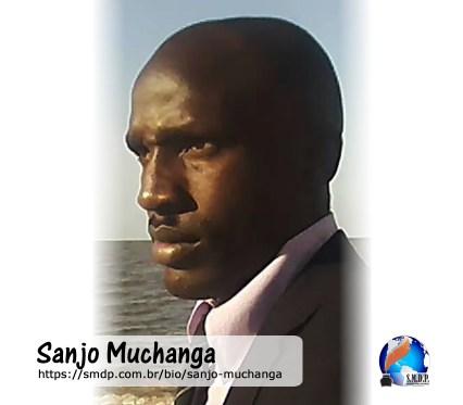 Sanjo Muchanga, poeta, participante no projeto Publique-se da SMDP em prol do Café com Poesia. Coleção: Leveza da Alma - Volume 9