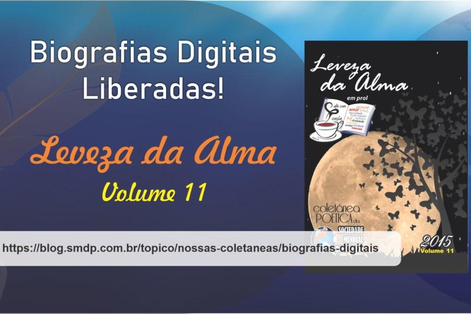Biografias Digitais da Coletânea Leveza da Alma - Volume 11
