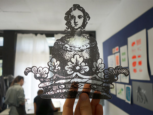 Siebdruckkurs in Berlin - Lern drucken mit uns: www.nadjagirod.com