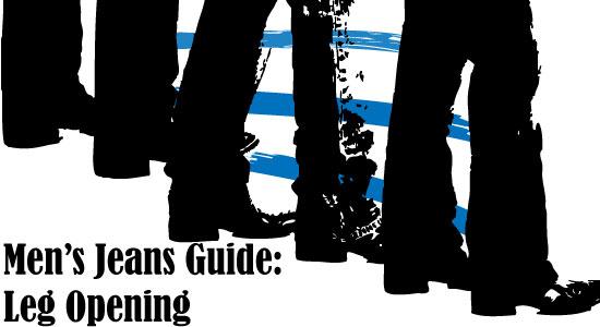 Men's Jeans Leg Opening Guide