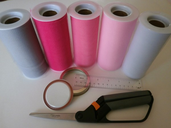 Supplies for Valentine Craft Project