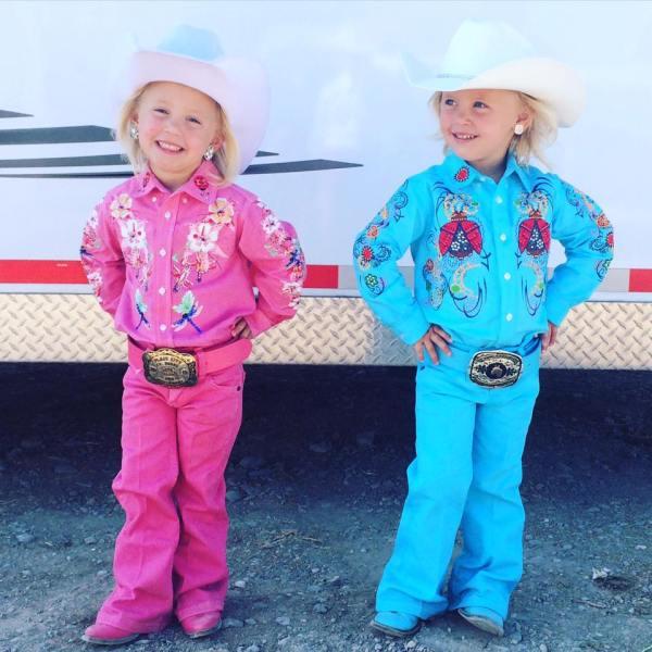 Pearl and Perri Douglas for Box Elder County Minnie Princess