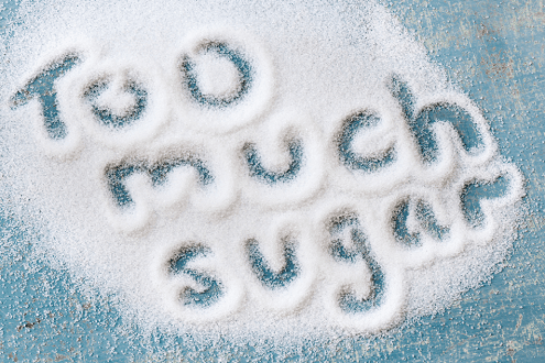 Zero down on Sugar! Tips on how to cut down on Sugar.