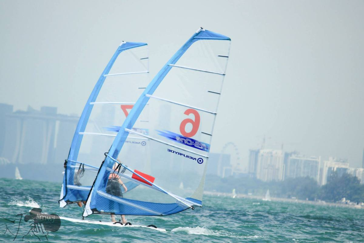 Being calm in a storm: Reflections of a windsurfer