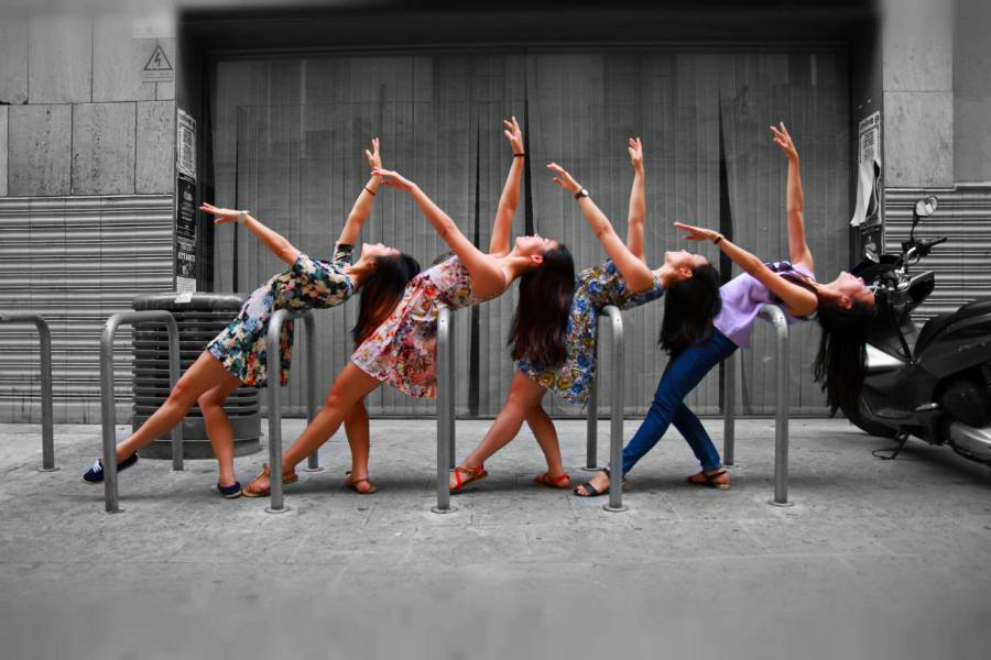 Indancity specialises in the grace and flexibility of contemporary dance