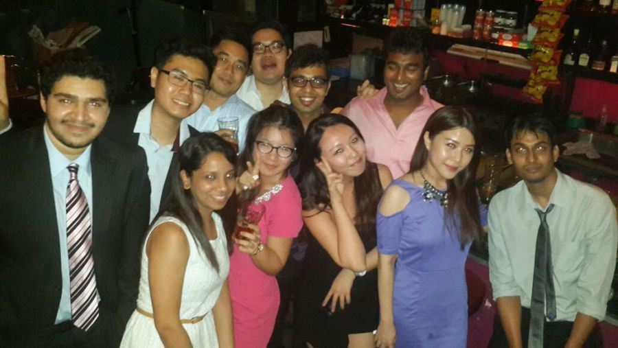 SMU MM programme: Chilling out at Ice Cold Beer