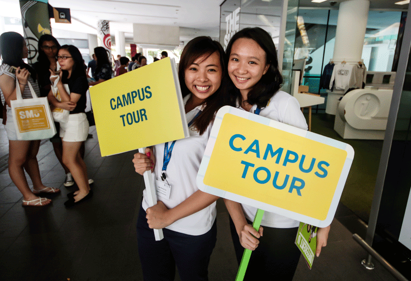 SMU Open House 2015: Day 1 Highlights