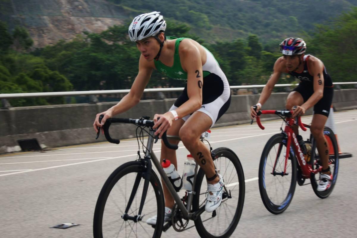 A triathlete's journey: Clement Chow