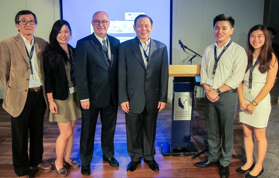 SMU's Tanoto Foundation scholars meet Mr Sukanto Tanoto