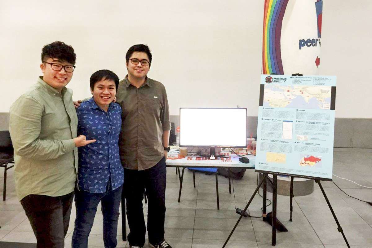 Undergraduates Tap on Geospatial Analytics For Business Intelligence