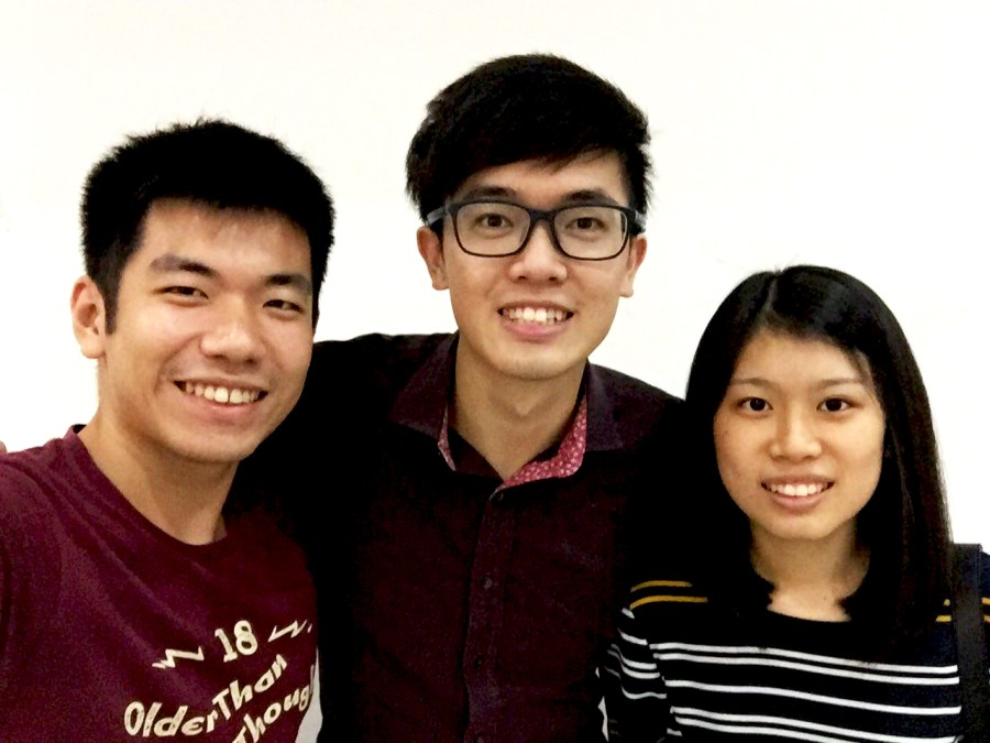 SIS team who developed Chances of Survival app
