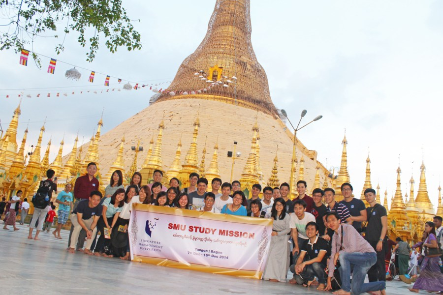 Study Mission in Myanmar (2014)