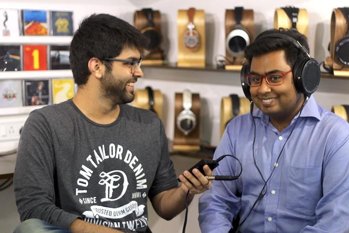 Raghav Somani, founder of Headphone Zone