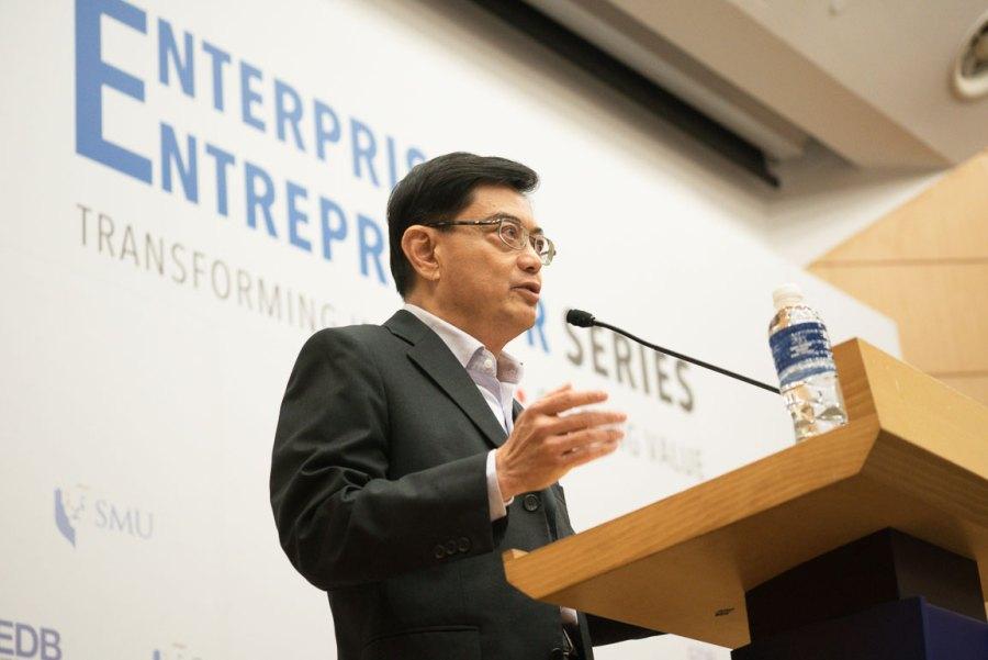 Finance Minister Heng Sweet Keat