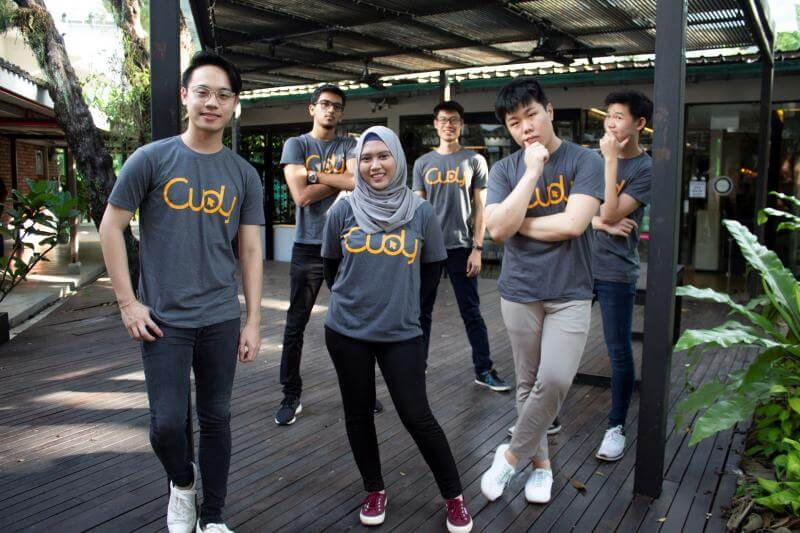 The team behind Cudy