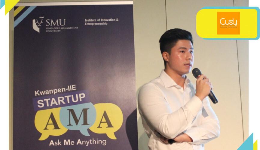 Alexander Lim, co-founder of Cudy