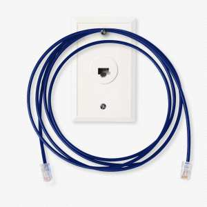 Ethernet Jack and Cable