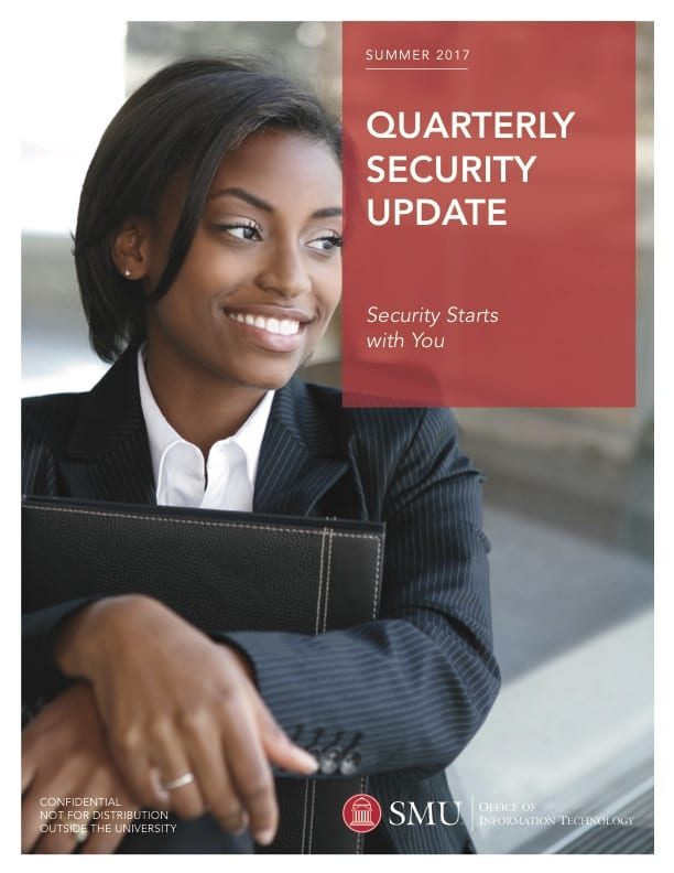 OIT Security Report 2017 Summer Edition