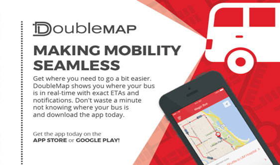 Track the SMU Express Shuttle with the new DoubleMap App