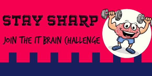 Stay Sharp! Wellpower IT Brain Challenge