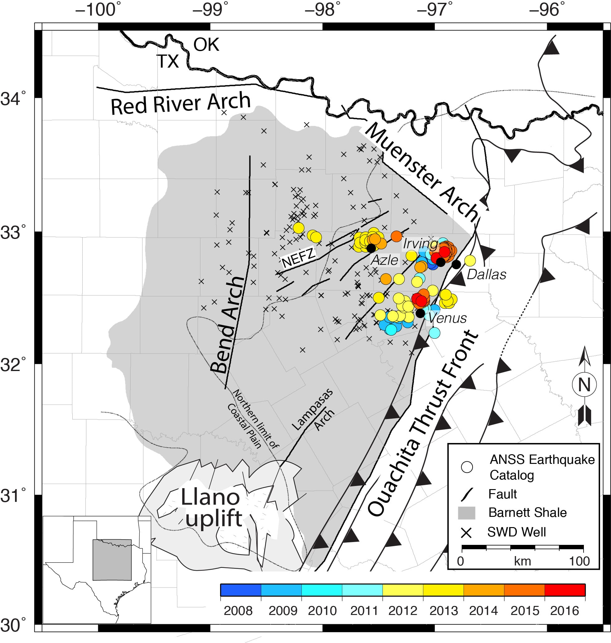 The Washington Post Oil And Gas Industry Is Causing Texas Earthquakes A Landmark Study