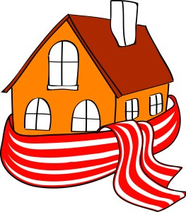 bigstock-House-wrapped-in-a-stripped-sc-44647423