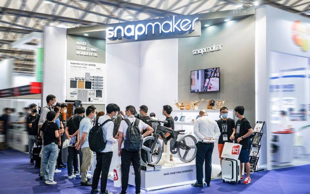 We Brought Our Stunning Snapmaker 2.0 to 2020 TCT Asia!