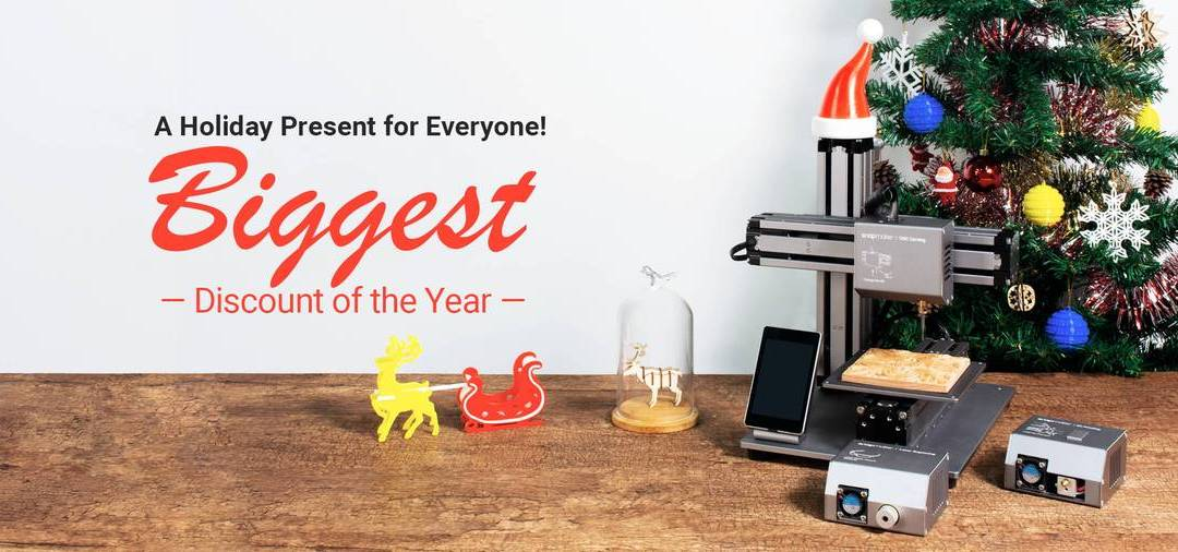 Snapmaker holiday sale buyer's guide!