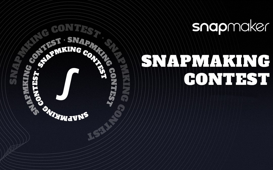 Join Snapmaking Contest – Upcycle and make something valuable!