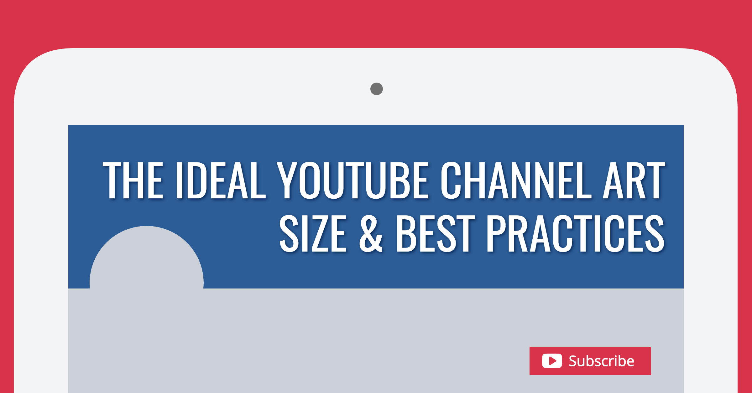 Below, we will walk you through the top performing banner ad types and how you can get the most from them as a publisher on google display network, the largest ad display network in the world. The Ideal Youtube Channel Art Size Best Practices 2021 Update